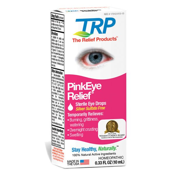 The Relief Products PinkEye Relief Drops