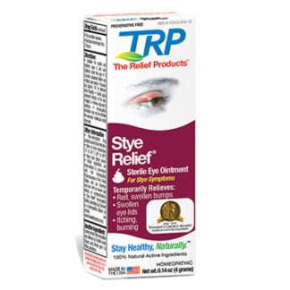Stye Relief Retail box