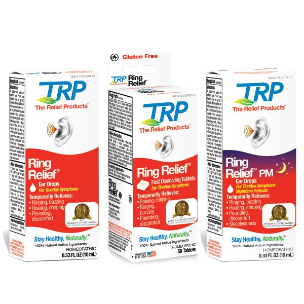 Ring Relief drops, Pm Drops and tablets