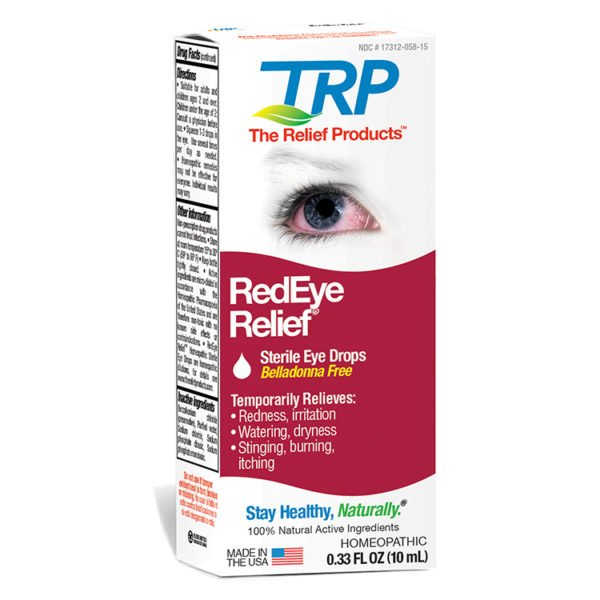 The Relief Products RedEye Relief Eye Drops