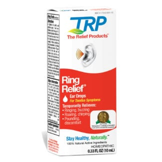 Ring Relief Ear Drops for tinnitus symptoms